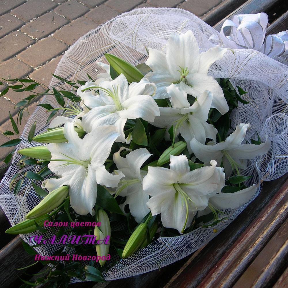 Картинки цветы лилии букеты