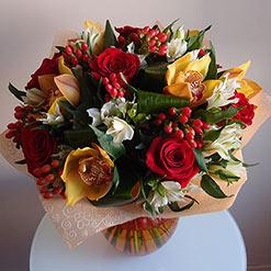 Заказать букет цветов с доставкой саров